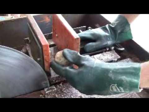 Cutting An Oregon Thunderegg, Part I