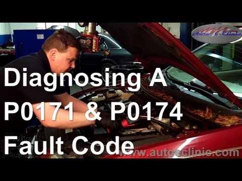How to Diagnose OBD II Fault Codes P0171 and P0174 Leaking Intake