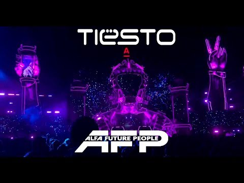 Tiesto Live @ Alfa Future People 2018 - Day 1    1080p 60fps