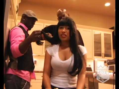 Nicki Minaj Hood Affairs Interview (Beam Me Up Scotty)
