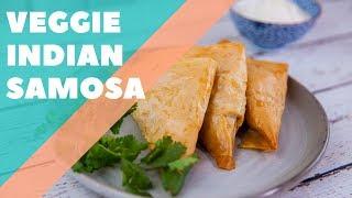 Veggie Indian Fillo Samosa   Good Chef Bad Chef S10 E29