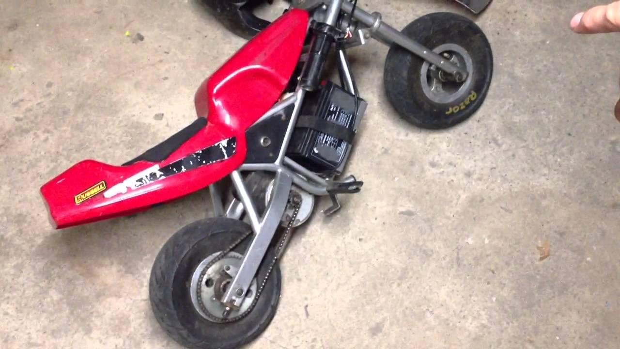 Razor Pocket Rocket And Razor Scooter Fleamarket Pick Ups Youtube
