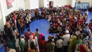 Presiden Jokowi bertemu Masyarakat Indonesia di Brunei Darussalam