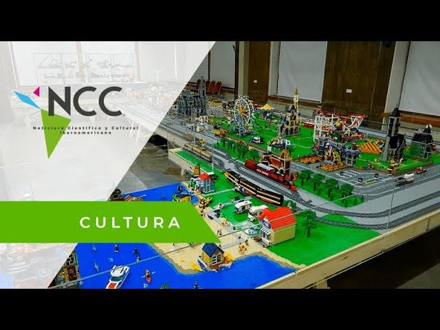 Fanático de Lego crea un universo con los famosos bloques