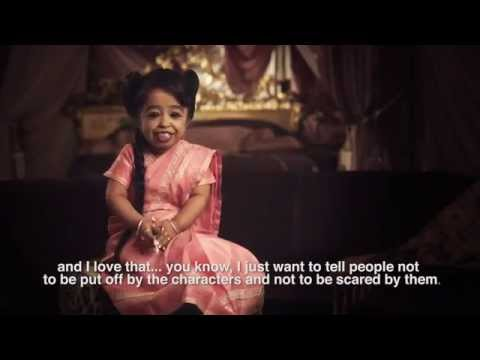 American Horror Story: Freak Show - Interview with Jyoti Amge