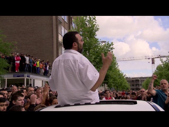 Applaus voor vader Nouri in Geuzenveld