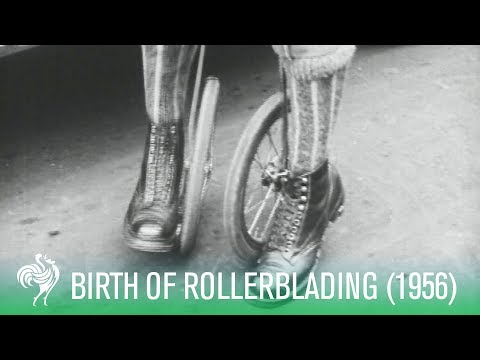 The Birth of Rollerblading: Cycle-Skating (1923) | Sporting History