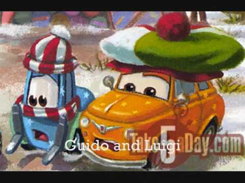 Mater saves Christmas pictures - YouTube