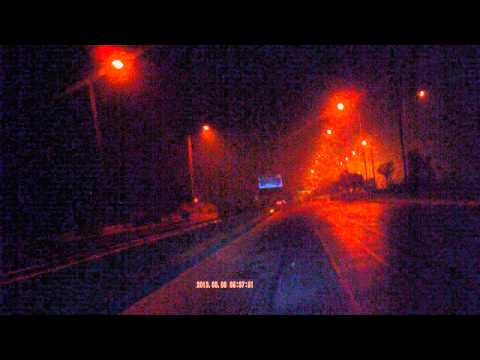 Early morning ride  Yamuna Express Way Delhi to Agar Highway parallel to National Highway NH-2 India