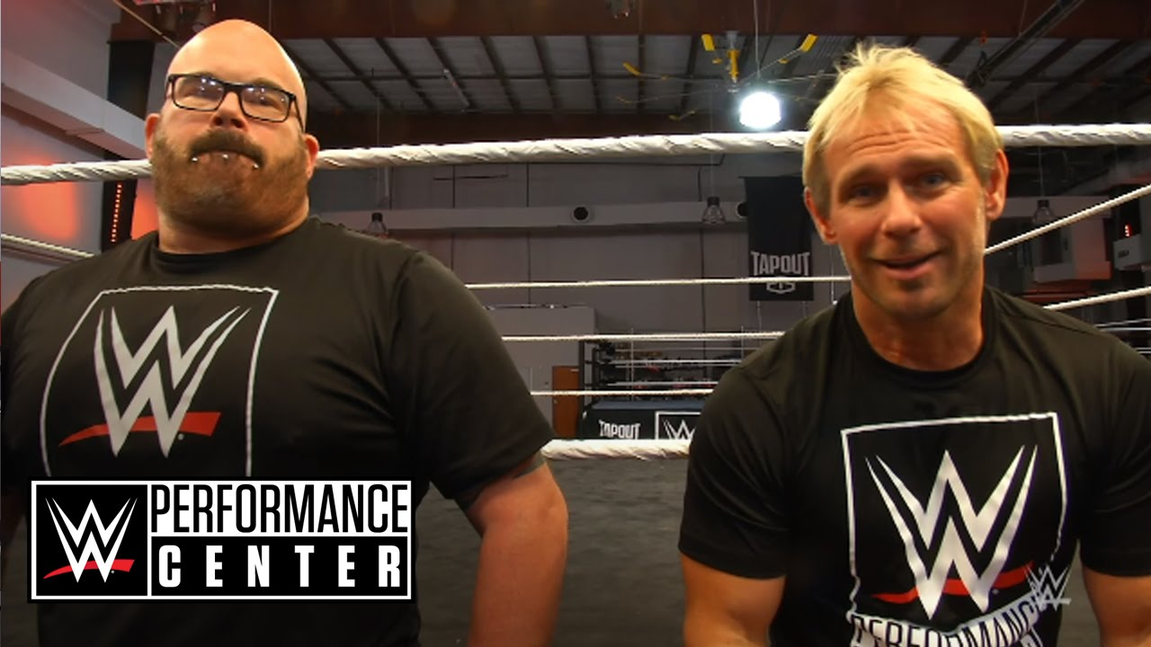 What's Scotty 2 Hotty doing at the WWE Performance Center?
