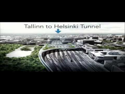 Alan James (Hyperloop One) in Tallinn. Vision for Tallinn-Helsinki tunnel & the region 20.04.2017