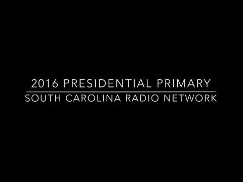 South Carolina Radio Network Primary Coverage 2016