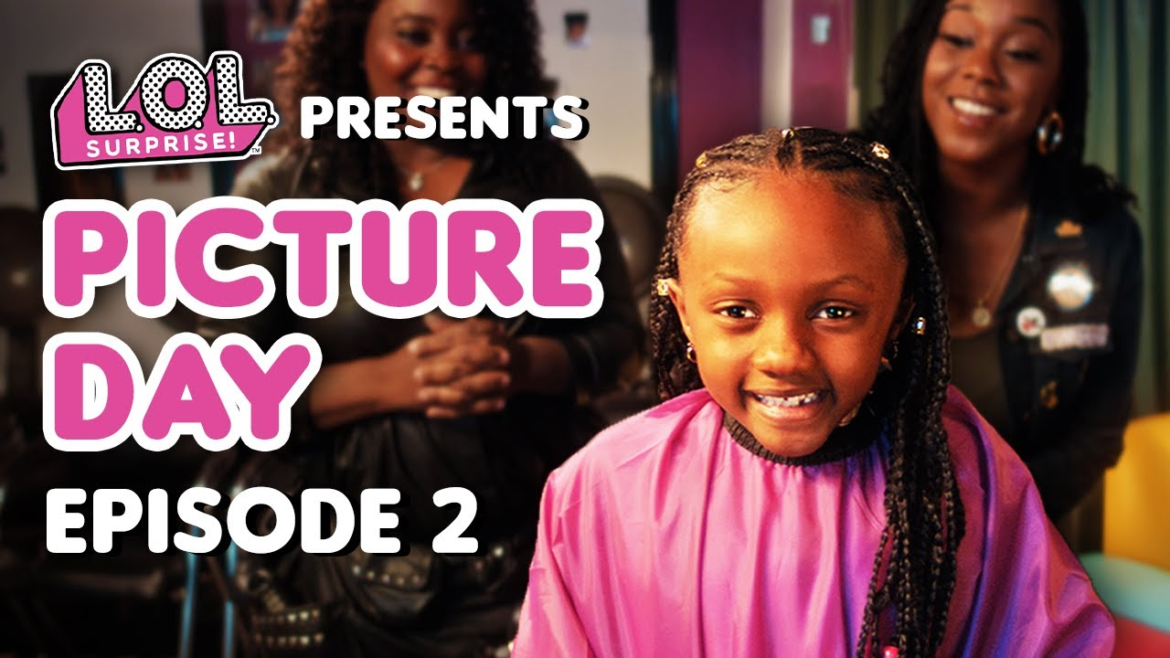 Embrace Your Natural Hair! | Picture Day Episode 2 | Black History Month | LOL Surprise!