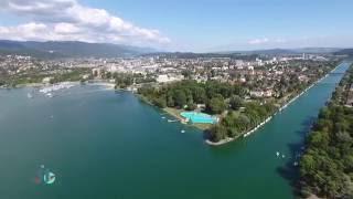 Port Lac Biel/Bienne - Port Lake Biel/Bienne Switzerland 4k