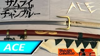 Samurai Champloo | Mugen's Typhoon Swell Sword Unboxing (2016)