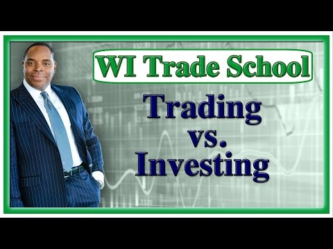 Investing vs. Trading Stocks