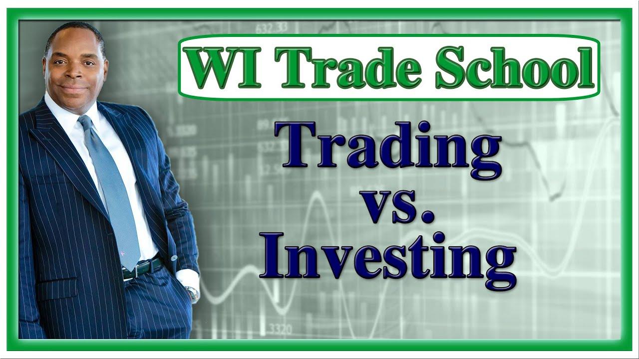 Investing vs. Trading Stocks