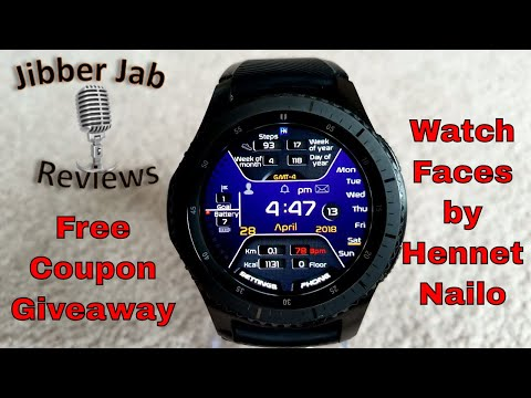 Samsung Gear S3/Gear Sport Watch Faces by Hennet Nailo - FREE Coupon