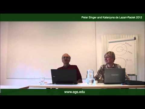 Peter Singer & Katarzyna de Lazari-Radek. Happiness or Truth?. 2012