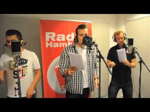 The Baseballs - Born this way (Live bei Radio Hamburg)