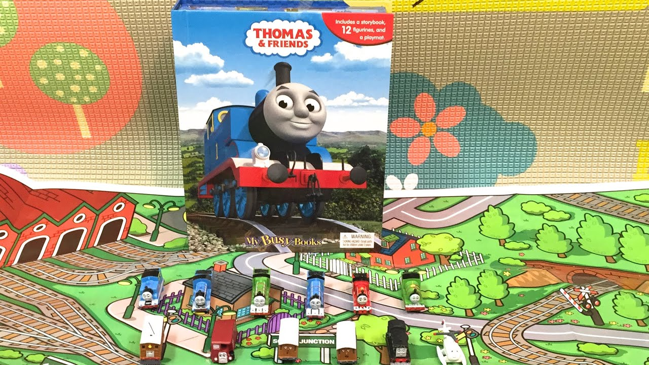 Thomas Amp Friends My Busy Book Unboxing And Review By Pt Amp G