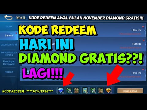 2 KODE REDEEM ML HARI INI 06 NOVEMBER 2020 - NEW CODE ...