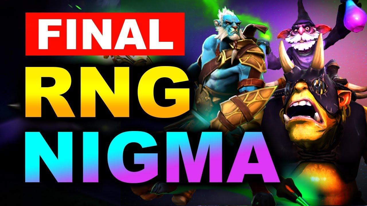 NIGMA vs RNG - GRAND FINAL - Bukovel Minor WePlay! 2020 DOTA 2 thumbnail