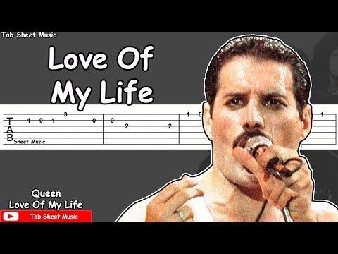 Queen - Love Of My Life Guitar Tutorial