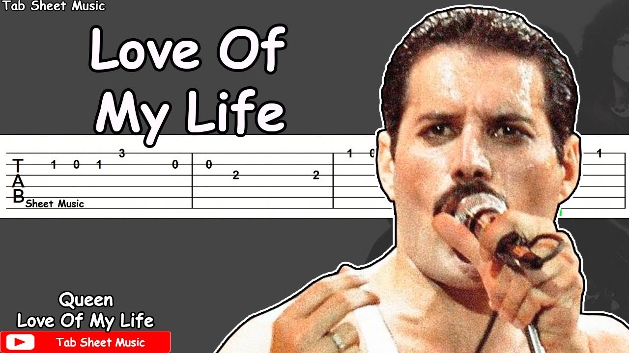 Queen - Love Of My Life Guitar Tutorial