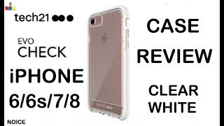 Tech 21 Evo Check White/Clear Case Review iPhone 6/6s/7/8