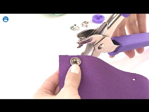 How to use Dritz Heavy Duty Snap Pliers