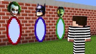 Какой Секрет НАХОДИТСЯ за Порталами Супергероев? Халк, Бетмен и Джокер в Майнкрафт Мультик!