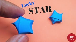 How to Make Lucky Stars - Paper Stars / Origami Stars Tutorial - Origami Paper Stars for Decoration