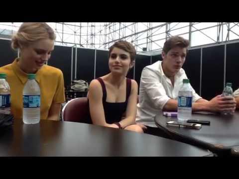 Debby Ryan & Dove Cameron Interviews at #VampireAcademy Los Angeles Premiere @DebbyRyan @DoveCameron from YouTube · Duration:  6 minutes 24 seconds
