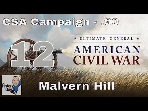 MALVERN HILL - Ultimate General: Civil War version .92 - Confederate Campaign #12