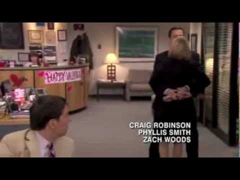 The Office Pda Clip Michael And Holly Youtube
