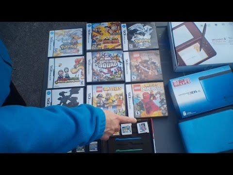 POKEMON CRAZYNESS! Retro Video Game Garage Sale Hunting Week 1 2017 : - MaximusBlack