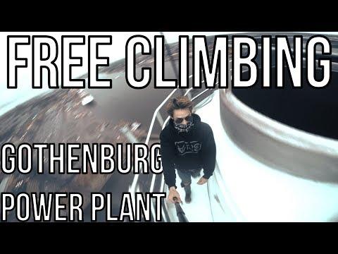 Göteborg Power Plant | Rosenlundsverket | Free Climbing