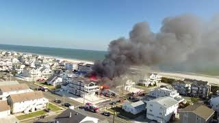 Elderly woman missing after Jersey Shore fire