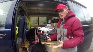 DJI Phantom 4 Pro with 360fly Camera Attached