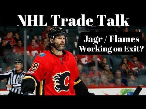 NHL Trade Talk - Jagr done in Calgary?