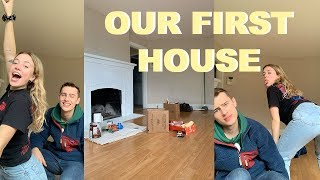 EMPTY HOUSE TOUR !! Our first house :')))))