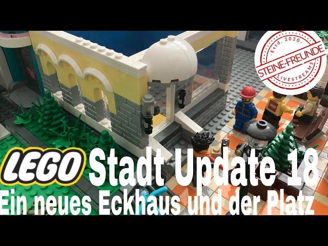 Lego Stadt Update 18/ Ein neues Eckhaus