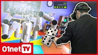 On a joué aux dominos contre un robot intelligent en réalité virtuelle