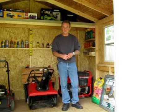 Handy Home Wood Sheds Review - Part 2: The Inside Look