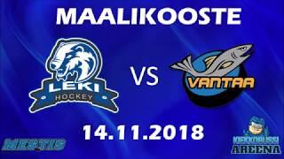 Maalikooste LeKi - K-Vantaa 14.11.2018