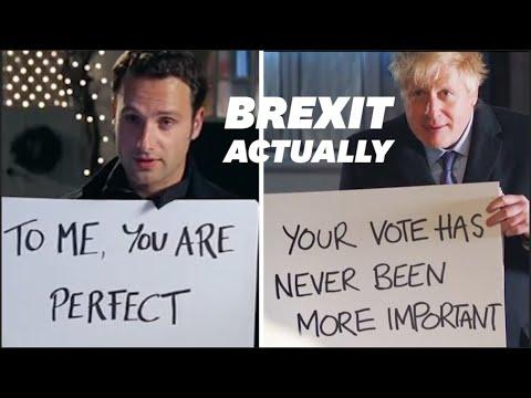 """Boris Johnson Parodie Le Film """"Love Actually"""" Dans Un Clip De Campagne"""