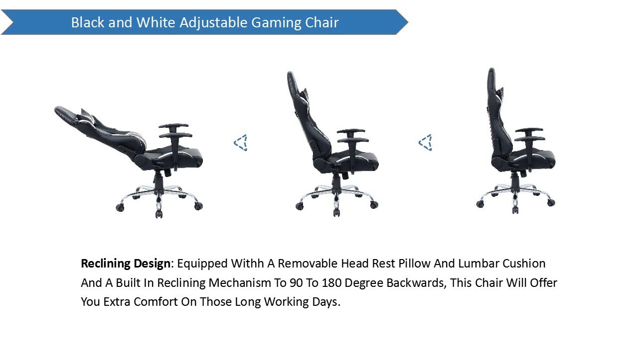 Tips Choose Executive Racing Style High Back Reclining Chair ...