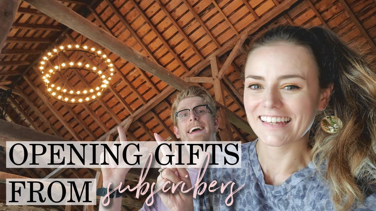 Opening Subscriber Gifts & Barn Chandeliers! | Let's Talk IBD