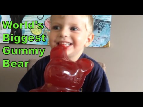 Kid eats World's Biggest Gummy Bear, Vat19! - 동영상